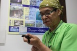 NPO法人屋久島うみがめ館の代表 大牟田さん