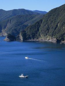 はざこの海と船