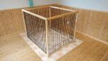 大型犬用サークル(幅101cm・奥行き118cm・高さ93cm)
