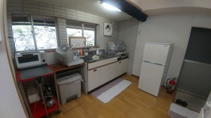 漁村民泊施設キッチン