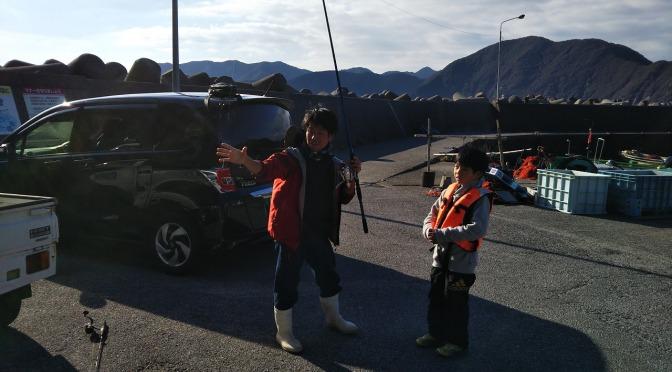 12月8日釣り体験教室