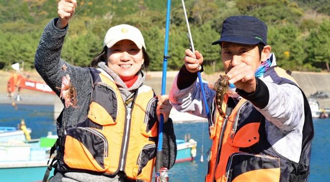 新年最初の釣り教室